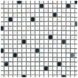 Mozaiek Wit Metaal