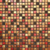 30x30 Glasmozaïek - Olympic Goud Mix