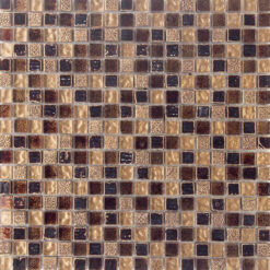 30x30 Glasmozaïek - Beige Bordeaux Opal