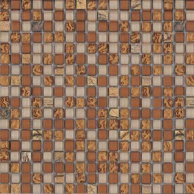 Mozaiek Brons Licht