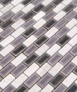 Mozaiek Duif Grijs