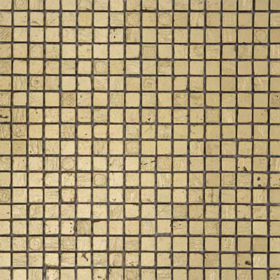 Mozaiek Goud Steen