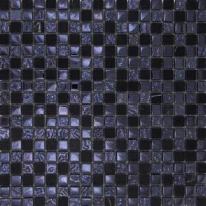 Mozaiek Zwart Glans