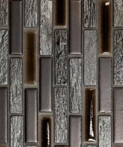 Mozaiek Bruin Zilver