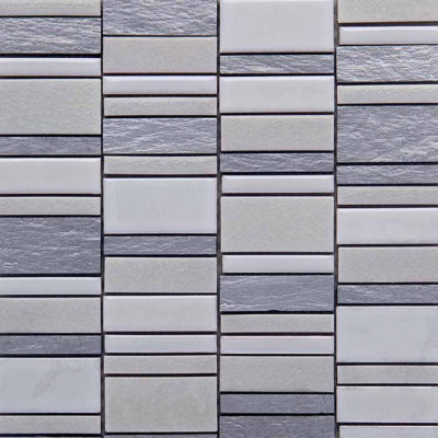 Mozaiek Multi Parelwit