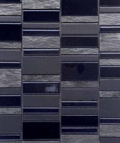 Mozaiek Multi Zwart Zilver