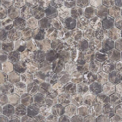 Mozaiek Zeshoek Gemixt
