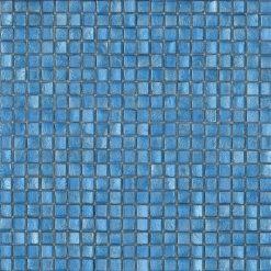 Mozaiek Blauwe Gloed
