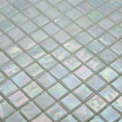 Mozaiek Iridium Parelwit