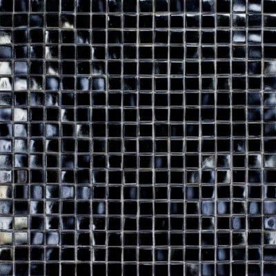 Mozaiek Iridium Parelzwart