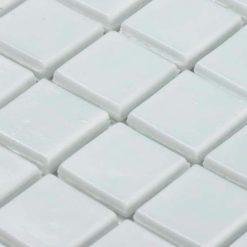 Mozaiek Iridium Wit