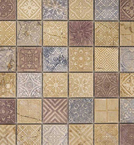 Mozaiek Kader Design Roze