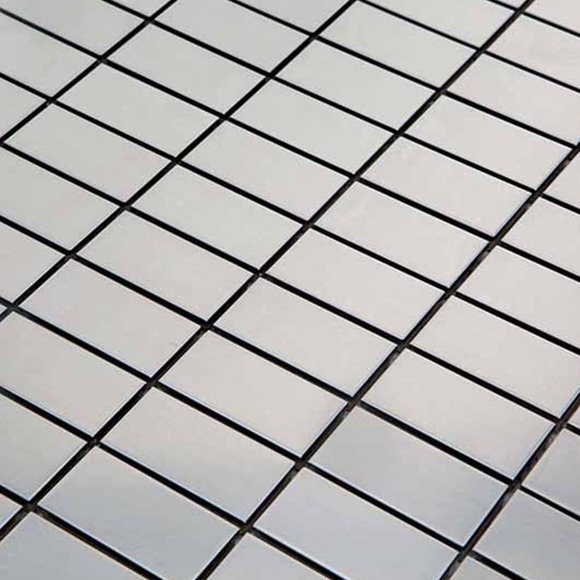 Mozaiek Metaal Rechthoek