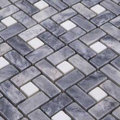 Mozaiek Nest Grijs