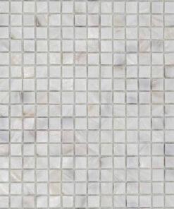 Mozaiek Parel Wit 15