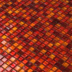 Mozaiek Vuurrood