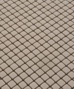 Mozaiek Juta Bruin