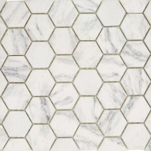 Mozaiek Marmerlook Wit