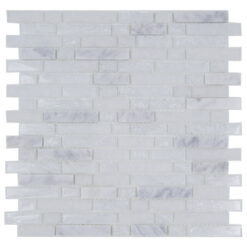 Glas- en Natuursteenmozaiek - Marmer Snow Craquele