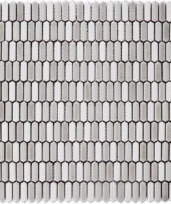 Glazuurmozaiek - Piket Beige