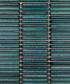 Glazuurmozaiek - Stick Shanghai Groen