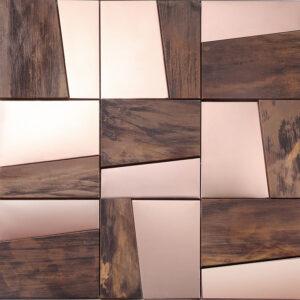 Metaal- en Kopermozaiek - Pembroke Copper Koper Brons