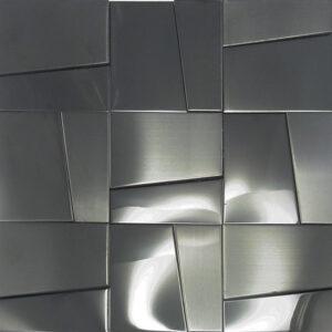 Metaalmozaiek - Hastings Grey Antraciet