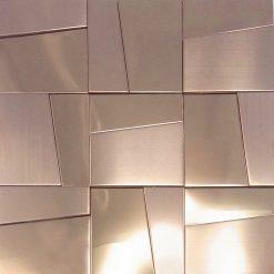 Metaalmozaiek - Hastings Rose Gold Goud