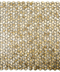 Metaalmozaiek - Kiezel Brighton Brass Goud