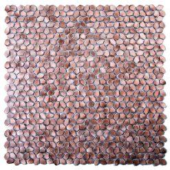 Metaalmozaiek - Kiezel Brighton Copper Koper Brons