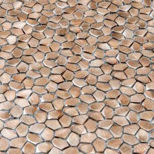Metaalmozaiek - Kiezel Brighton Copper Koper Brons CU 1