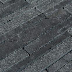 Natuurstenmozaiek - Leisteen Zwart Multi CU