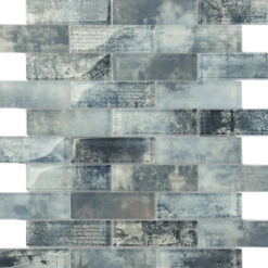 Glas- en Natuursteenmozaïek - Merletto Blauw